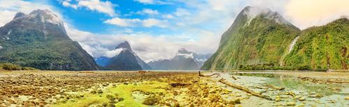 Panorama vom Milford Sound