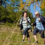 Wandern ist ein Sport für Jung und Alt