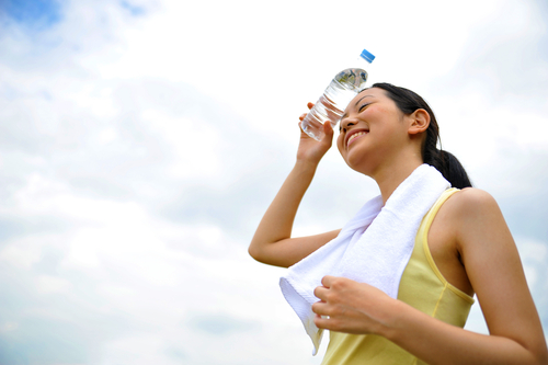 Auspowern an Outdoor Fitnessgeräten