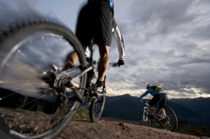 Biken durch die Berge