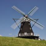idylische Windmühle auf Pellworm