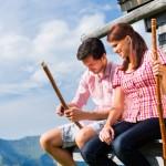 Brotzeit auf einer Alm - dieses Erlebnis gibt es nicht nur in Tirol